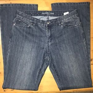 Michael Kors boot cut jeans size 6